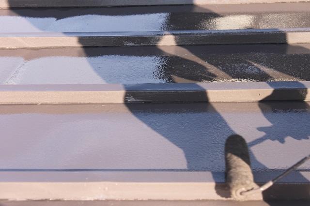 川越 トタン塗装