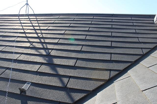 川越市 屋根塗装前