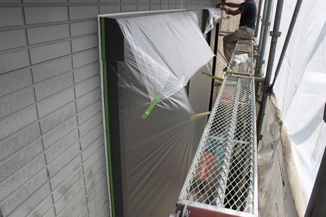 所沢市 外壁下塗り