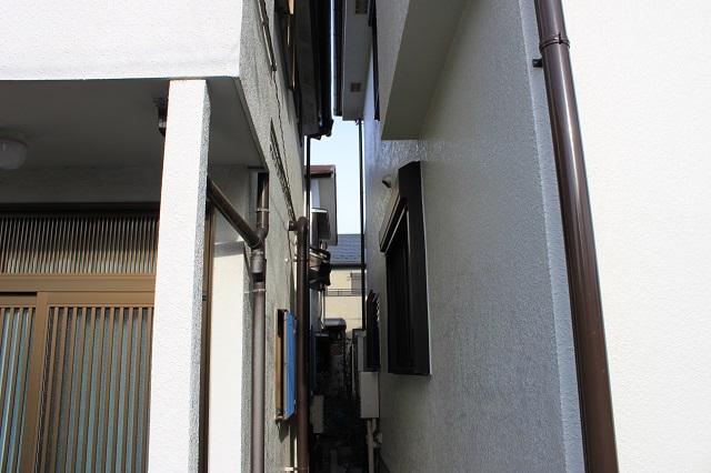入間市 狭小 外壁塗装