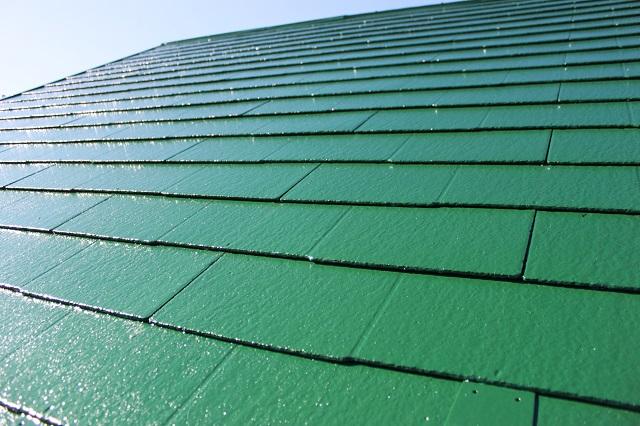 狭山市 屋根塗装後