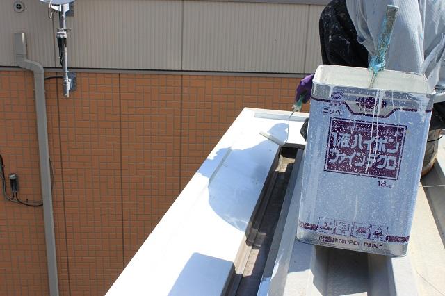 川越市 屋根塗装