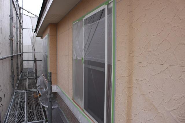 狭山市 外壁塗装 養生