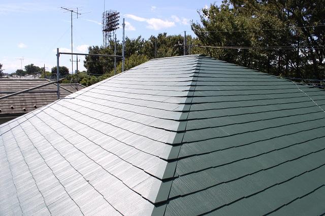 狭山市屋根塗装