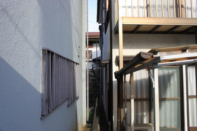 入間市 外壁塗装 足場工事