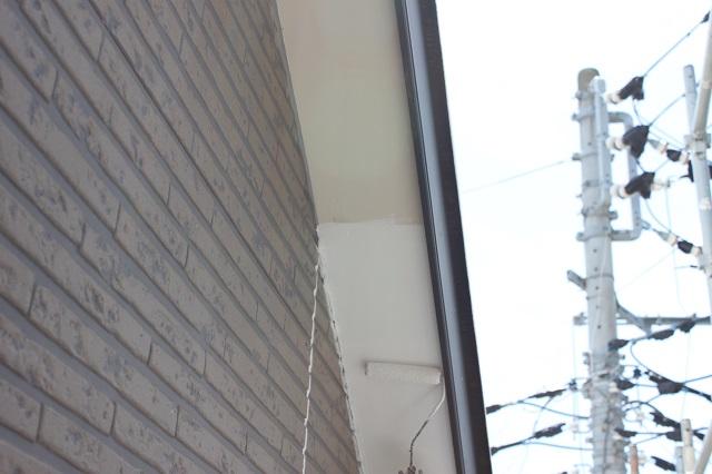 狭山市 軒天塗装