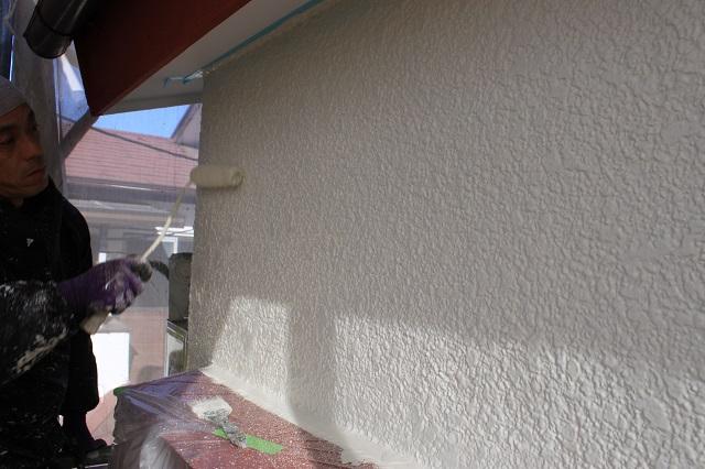入間市上小谷田 外壁塗装中