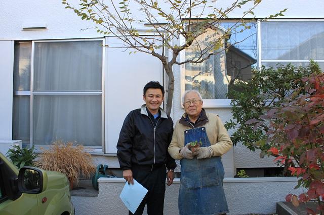 所沢市北中 外壁塗装後 お客様の喜び