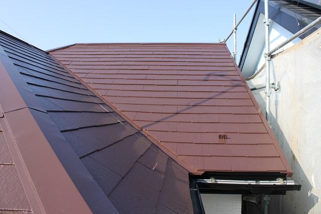 川越市大塚 屋根塗装