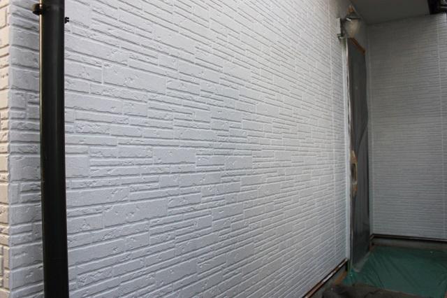 川越市大塚 外壁塗装下塗り