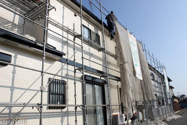 川越市大塚 外壁塗装