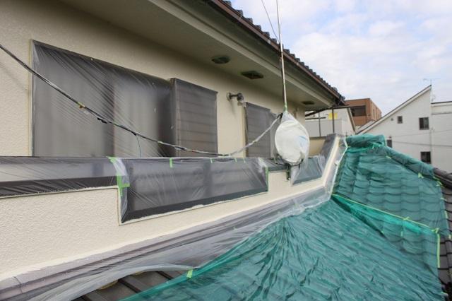 所沢市上新井 外壁塗装