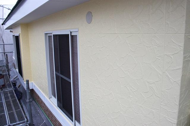 狭山市 外壁塗装後