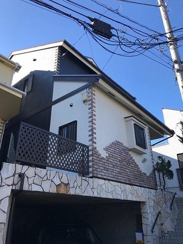 外壁塗装完工 所沢市
