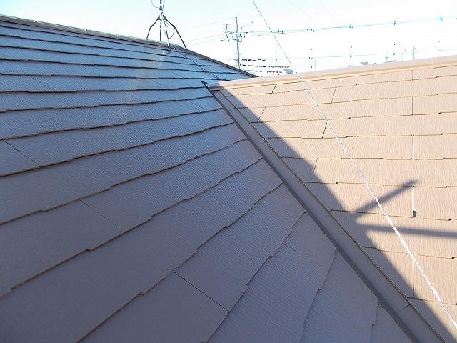 入間市野田の屋根塗装