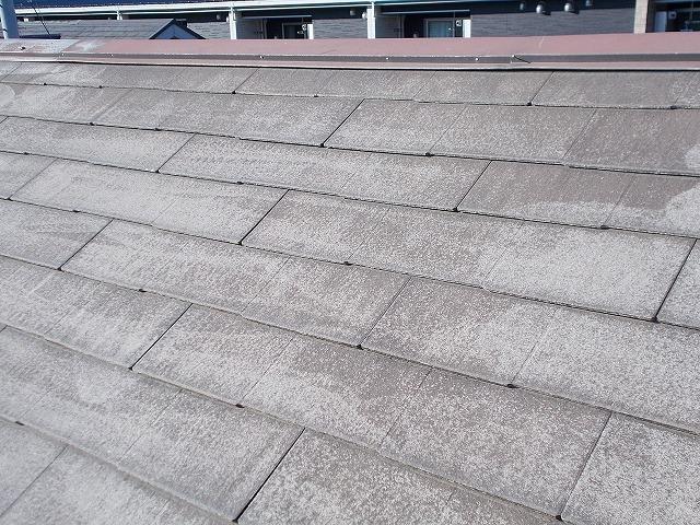 狭山市東三ツ木の屋根洗浄後のアップ
