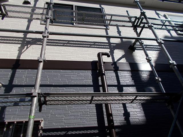 川越市新明町綺麗に仕上がった外壁