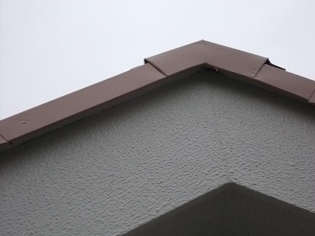 所沢市上安松の屋根ケラバ廻り