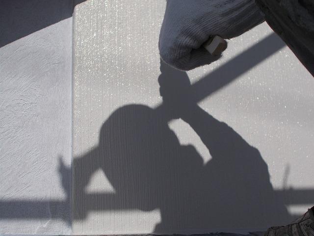 所沢市上安松で中塗り塗装